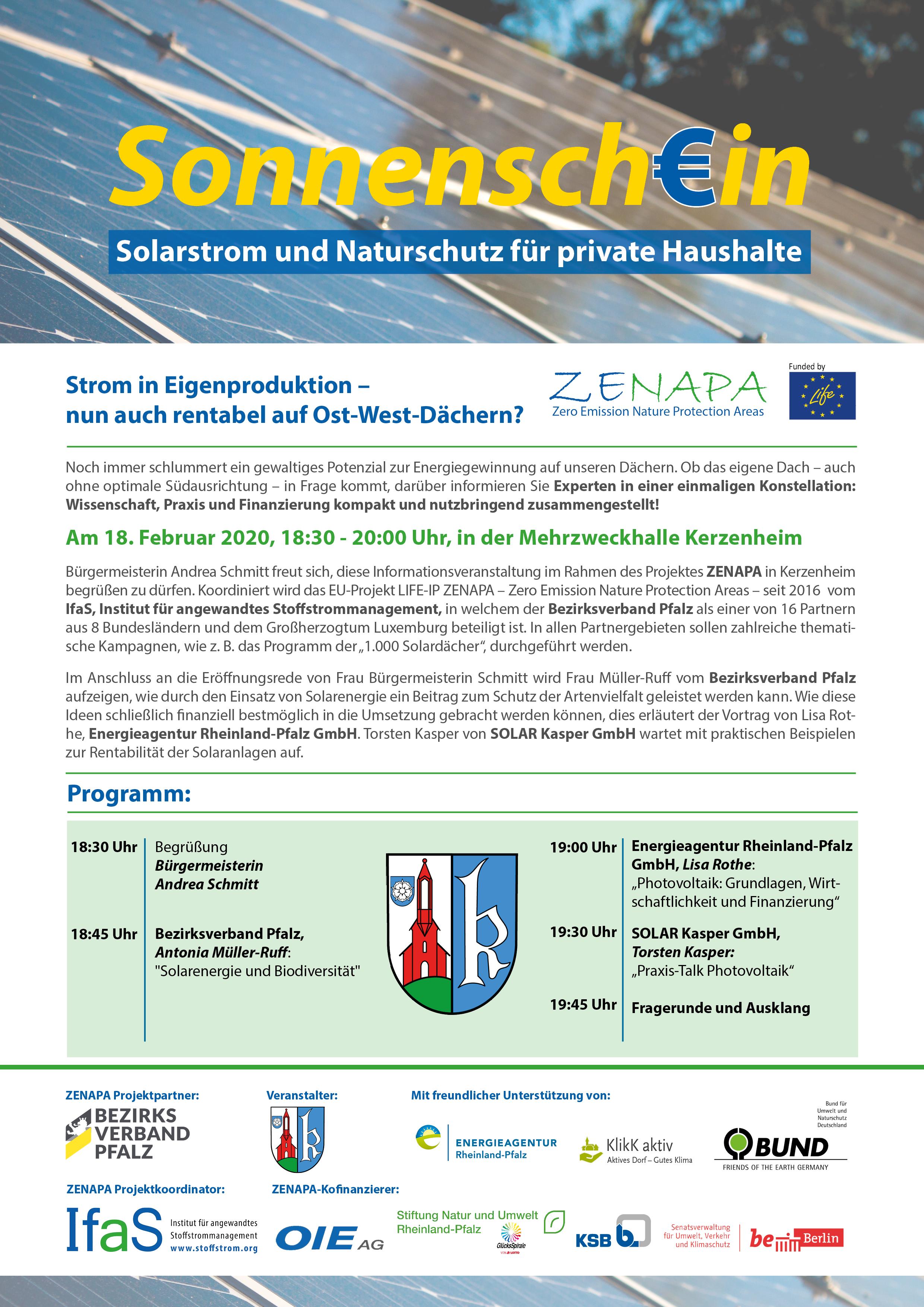 PV-Informationsveranstaltung in Kerzenheim