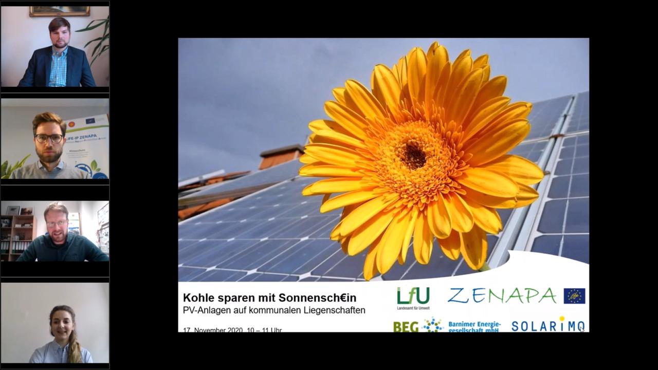 Online-Seminar am 17.11.: Virtueller Austausch mit kommunalen PV-Experten