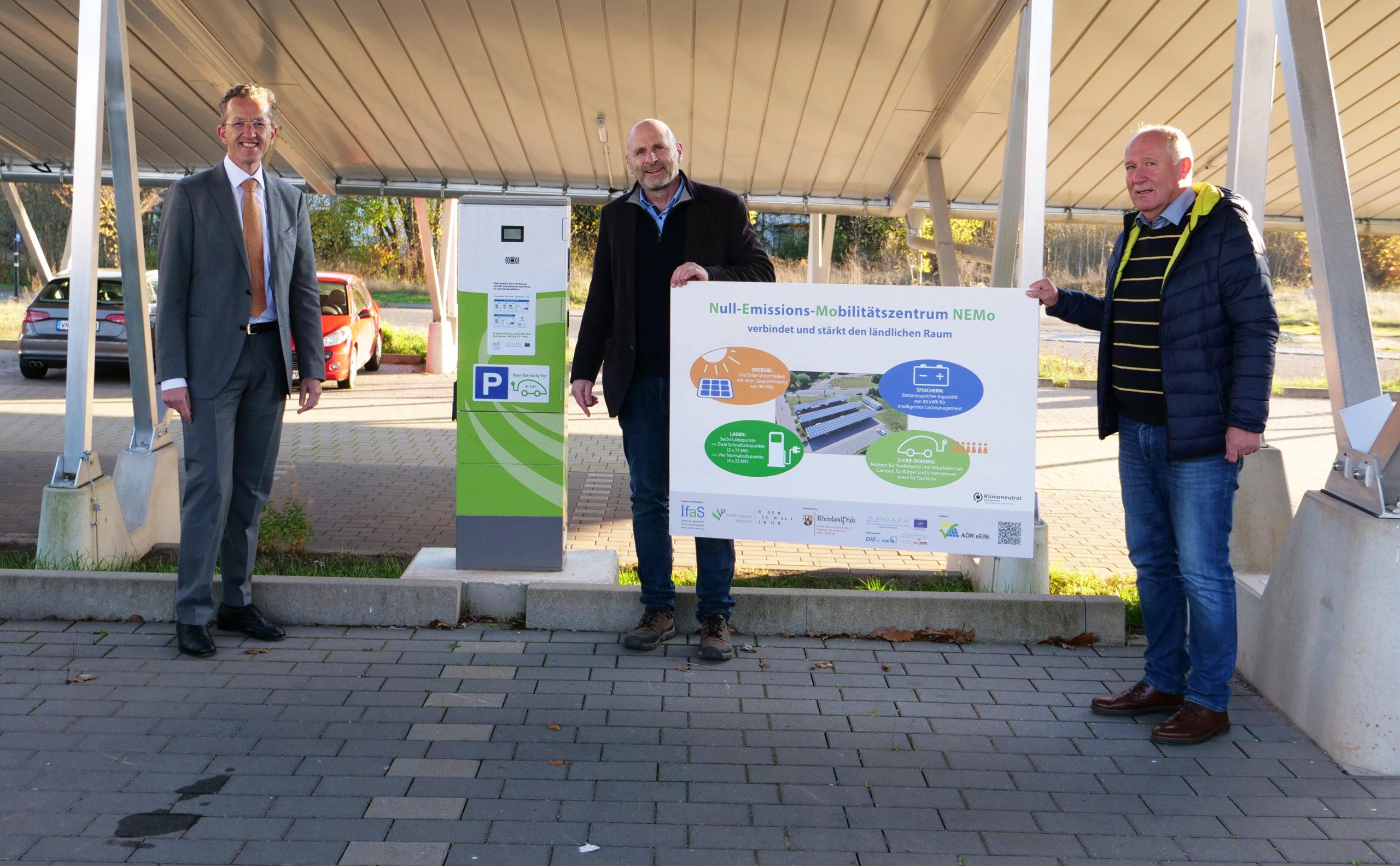 """Deutsche Solarpreis-Plakette 2020 zeichnet das Projekt """"NEMo"""" aus"""