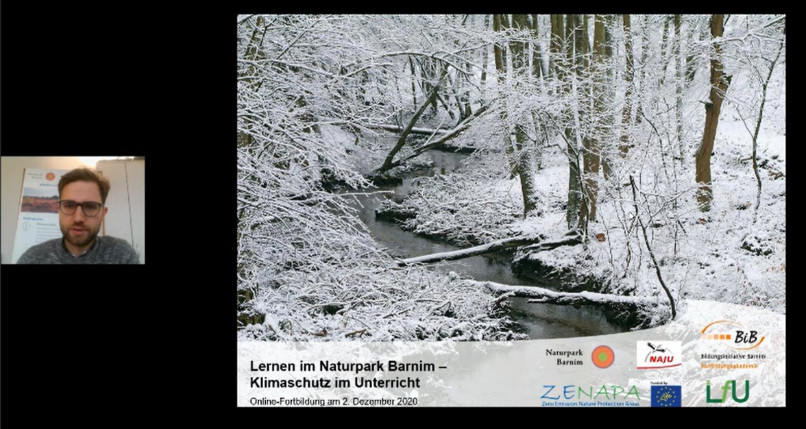 Lernen im Naturpark Barnim – Klimaschutz im Unterricht